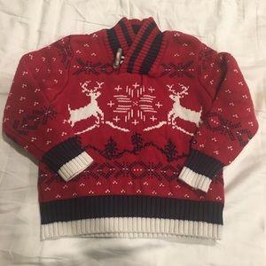 TH shawl collar sweater